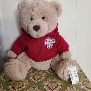 Aeropostal Teddy Bear Hoodie NWT Soft Cuddly
